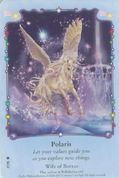 I can't believe I lost half of my cards. Unicorn Fantasy, Unicorn Horse, Magical Creatures, Fantasy Creatures, Bella Sara, Unicorns, Horse Cards, Unicorn Pictures, Beautiful Fantasy Art