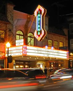 """Inspiration for my novel """"Daffodil Sunrise"""": Buskirk-Chumley Theater, Bloomington, Indiana Bloomington Indiana, Indianapolis Indiana, Indiana Girl, Marion Indiana, Indiana State, Beautiful Places In America, Indiana University, French Country Style, North America"""