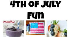 40 ideas for 4th of July Fun #July4th #recipes #crafts