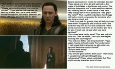 Deleted scene Thor 2- this just makes me sad :( they should have kept it it distinguished the relationship between Loki and Frigga