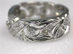 Diamond Openwork Ring