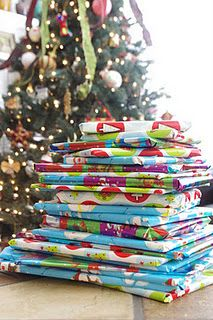 Wrap books to read during the 25 days of Christmas.  Child picks out and unwraps each night. What a great family tradition!