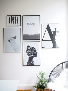 A minimalistic Gallery Wall - how to (c) Lieblings