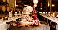 Cheesewheel Wedding Cake