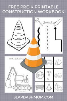 Free Construction Truck Printables and birthday party ideas! Free Construction Truck Printables and birthday party ideas! Preschool Workbooks, Preschool Lesson Plans, Free Preschool, Preschool Printables, Preschool Themes, Preschool Learning, Preschool Activities, Preschool Rules, Free Printables