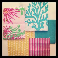 Some Lily Pulitzer in the mix...