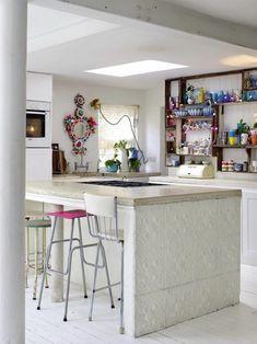 La maison de la photographe Debi Treolar à Londres