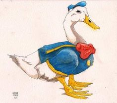 Donald Duck, reality.