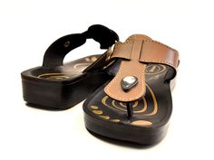 Freedom sandal is made from polyurethane material which allows it to be consistent