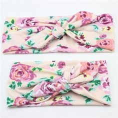 Cheap knot headband, Buy Quality kids turban directly from China twist knot headband Suppliers: Mother & Baby Kids Turban Hair band Accessories Toddler Girls twist knot Headbands Parent-Child Family Headwear Cute Headbands, Turban Headbands, Floral Headbands, Baby Girl Headbands, Elastic Headbands, Headband Hairstyles, Bow Hairband, Boho Headband, Knot Headband