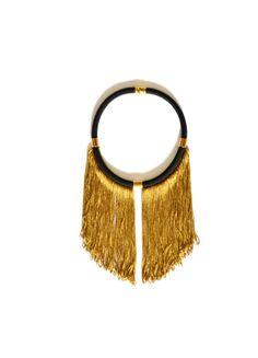 short rope gold fringe necklaceboho statement by PROPSfashion, €30.00