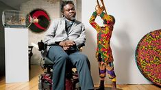 Yinka Shonibare creates his latest 'mannequin' figure and talks about his life and career.