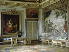 Apartment of Louis XIV at Versailles, 17th century.