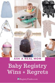 Ask a Real Mom: Baby Registry Regrets + Registry Wins Best Baby Shower Gifts, New Baby Gifts, Baby Mine, Mom And Baby, Baby Registry Items, Baby Items, Baby Shower Baskets, Teaching Babies