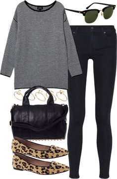 outfit for college in autumn by im-emma featuring Paige Denim