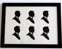 Profiles of Sean Connery, George Lazenby, Roger Moore, Timothy Dalton, Pierce Brosnan, and Daniel Craig.  (James Bond)