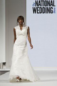 Amy Hamilton @ Berketex Bride Wedding Dress - National Wedding Show Spring 2013 Catwalk