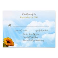 DealsPrairie Sunflower Border and Sky Menu RSVP Cards Personalized Announcementin each seller & make purchase online for cheap. Choose the best price and best promotion as you thing Secure Checkout you can trust Buy best