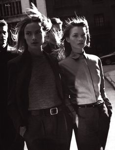 Carolyn Murphy & Kate Moss for Calvin Klein