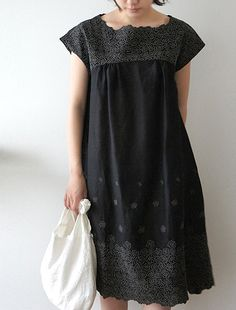 "Fleurs dress from Japanese on-line shop ""Envelope"""
