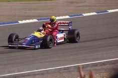 Nigel Mansell | Ayrton Senna (Great Britain 1991) by F1-history.deviantart.com on @DeviantArt
