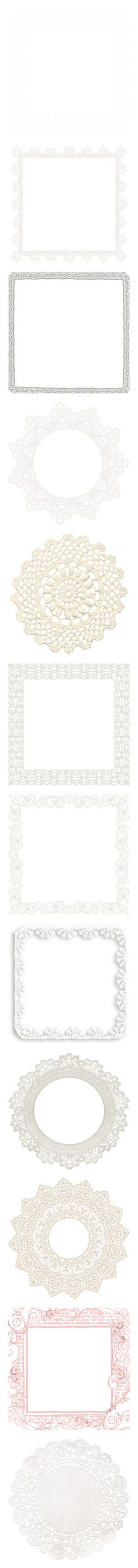 """""""LACE FRAMES"""" by swan-lady ❤ liked on Polyvore featuring effects, frame, backgrounds, psd, tubes, frames, borders, picture frame, filler and lace"""