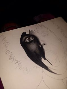 This a practice piece for my art mock GCSE