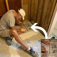 How to Install a Shower Base Small Shower Remodel, Small Bathroom With Shower, Small Showers, Diy Bathroom Remodel, Bathroom Design Small, Bathroom Ideas, Basement Bathroom, Bath Remodel, Bathroom Renovations