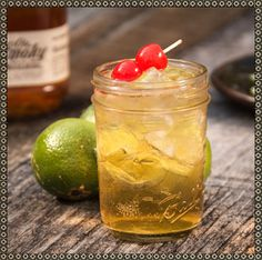 THE DOLLY Apple Pie Moonshine Martini #Recipe  Mix equal parts #OleSmoky Apple Pie Moonshine and Ginger Ale. Add a splash of lime juice.