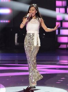 Jessica Sanchez - these pants are amazing