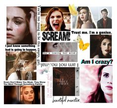 """""""Lydia Martin"""" by sixela14 ❤ liked on Polyvore featuring art"""