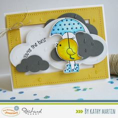 You're the Best by Kathy Martin for Journey Blooms using Fun Stampers Journey stamps and dies.