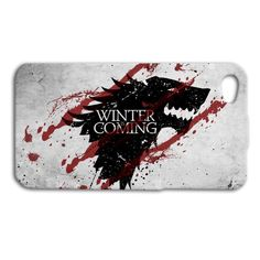 Game of Thrones Cute Wolf Cool Phone Case iPhone 4 5 5c iPhone 4s iPhone 5s 6 +