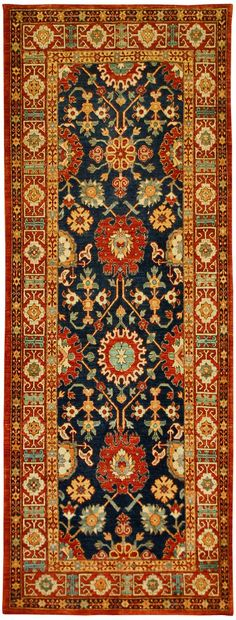 Afghan Shirvan Type Rug - 40 inches by 105 inches