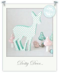 Polka dot deer