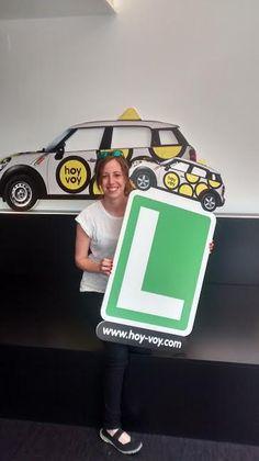 LUCIA SAETA!!! #hoyvoy #autoescuela #hospitalet