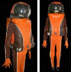 Star Trek The Motion Picture. Spock's suit - the actual one seen in the film -  not like the out take one