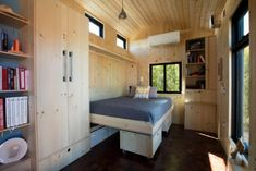 SaltBox Tiny House on Wheels by Extraordinary Structures