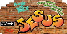 Image detail for -... Wall Murals Graffeti Design – Christian Wall Murals for
