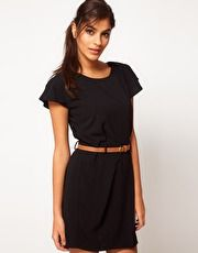£35 ASOS Mini Tulip Dress with Flute Sleeves