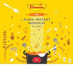 Vitaman Plain Instant Noodles on Behance