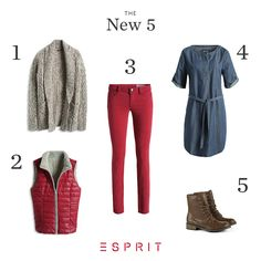 #denim, #knit, and #boots – our #casual #styles are the perfect companion on chilly autumn days.