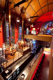Voted the best bar in all of Holland. That is what you'll find at the brewery in a former church @ De Jopenkerk, Haarlem