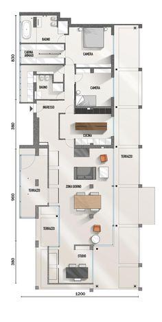 Progetti Case Su Due Piani Planimetrie Floor Plans Flooring E
