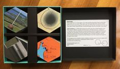 Artist collective point and place created this hexagon game as a series of starting points for creative play or as a traditional Pelmanism game Hexagon Game, Memory Games, Creative Play, Hexagons, Toolbox, Uk Shop, Board Games, Opportunity, Invitations