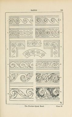 A handbook of ornament; Plate 97
