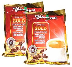 Vinacafe 3 in 1 Instant Coffee Mix Strong Blend sachets total) -- Check out the image by visiting the link. Gourmet Recipes, Snack Recipes, Snacks, Coffee Mix, Instant Coffee, Drinking Tea, Healthy Drinks, Sachets, Chips
