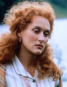 Meryl Streep in, ' The French Lieutenant's Woman'.