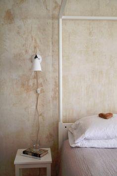 Trending: Rough Textured Walls | Centsational Style Home Design, Wabi Sabi, Venetian Plaster Walls, Diy Plaster, Pastel Home Decor, Distressed Walls, Old Wall, Bedroom Styles, Interior Walls