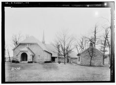 East elevation (front) - Old Stone Church, U. Old Pictures, Old Photos, Agricultural Buildings, Virginia Is For Lovers, Old Dominion, Shenandoah Valley, Vernacular Architecture, Historic Properties, Old Stone